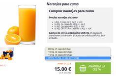 15 kg de naranjas para zumo por 15 - http://ift.tt/2jgkRhX