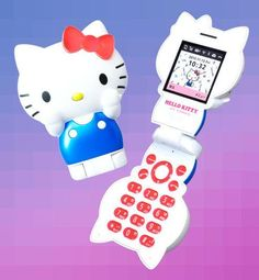 This adorable Hello Kitty phone is bringing flip phones back in style