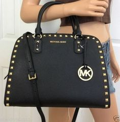 Black studded bag - Michael Kors