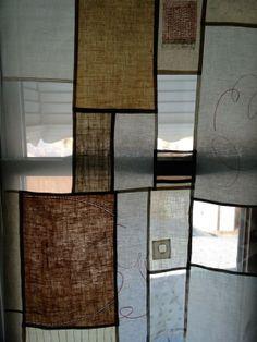 "Christine Mauersberger: Pojagi/Bojagi  - "" a Pojagi trial, in my window"""
