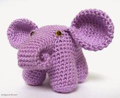 Мастер-класс: амигуруми слоник | Корица
