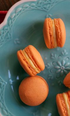 Mango White Chocolate Ganache Macarons | Joanne Eats Well With Others