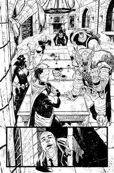 Secret Avengers 36 - page 1 by MatteoScalera on deviantART