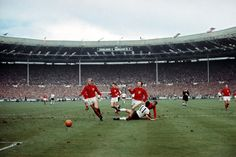 World Cup final, 1966 when England beat West Germany 4-2 :)
