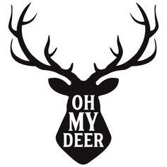 Jillibean Soup - Silhouette Cut File / Oh My Deer