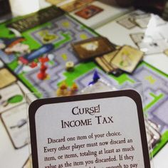 Ugh. Tell me about it. #curse #incometax #munchkins #gamenight