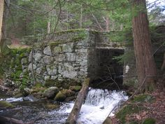 Westfield, MA: Hidden railroad brigde from the 1800's
