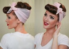 Rockabilly Girl | Community Post: 14 Impossibly Cute Halloween Hair Ideas That Require No Costume