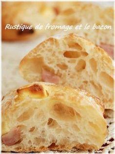 「チーズとベーコンのペッパーリュスティック」いたるんるん   お菓子・パンのレシピや作り方【corecle*コレクル】