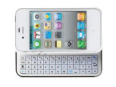 iMounTek Bluetooth Sliding Keyboard Buddy Case - Designed to be the perfect compliment to the Apple iPhone 5, the Keyboard Buddy Case's easy slide in and out keyboard is smooth and natural. GetdatGadget.com/imountek-bluetooth-sliding-keyboard-buddy-case/