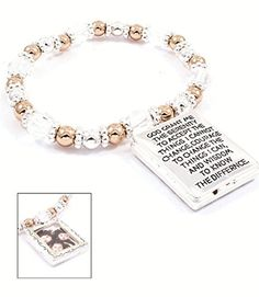 Accessory Accomplice Silvertone Engraved Serenity Prayer Picture Frame Charm Beaded Stretch Bracelet Accessory Accomplice http://www.amazon.com/dp/B00H5XYK4M/ref=cm_sw_r_pi_dp_Av79tb1QFGWZ4
