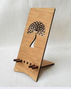 Telefono cellulare STAND  stand iphone in legno  legno