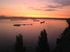 Sunset at KNSM and Java