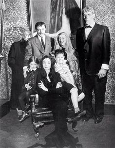 The original Addams Family, 1964.