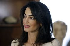 Amal Clooney married down. She's way more fascinating than George. - Yahoo News