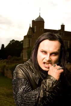 Picture of Dani Filth Pretty People, Beautiful People, Dani Filth, Cradle Of Filth, Great Bands, Secret Obsession, Black Metal, Jon Snow, Game Of Thrones Characters