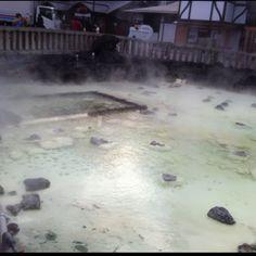 Hot spring @kusatsu onsen
