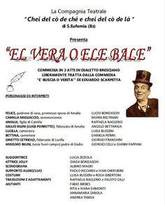 """Sabato 3 dicembre all'Orchidea Sport Village cena e risate con la commedia """"El vera o ele bale"""" - http://www.gussagonews.it/orchidea-sport-village-cena-commedia-vera-bale-dicembre-2016/"""