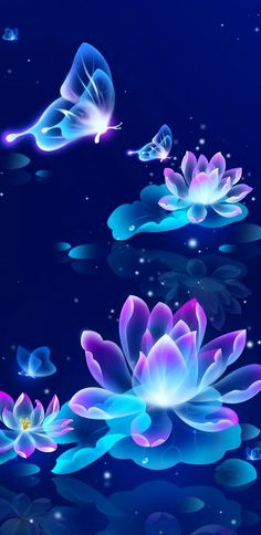 Flowers Wallpaper Iphone Purple Backgrounds Ideas For 2019 Flower Phone Wallpaper, Neon Wallpaper, Butterfly Wallpaper, Butterfly Art, Cellphone Wallpaper, Disney Wallpaper, Flower Wallpaper, Mobile Wallpaper, Wallpaper Backgrounds