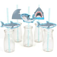 SHARK ATTACK NOVELTY TOY BIRTHDAY PARTY BAG FILLER GROW YOUR OWN SHARK