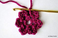 How to: Basic Crochet Flower