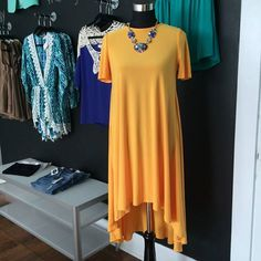 Mango Hi-Low Dress Available at Lush & Co. Boutique