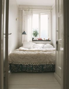 tiny bedroom
