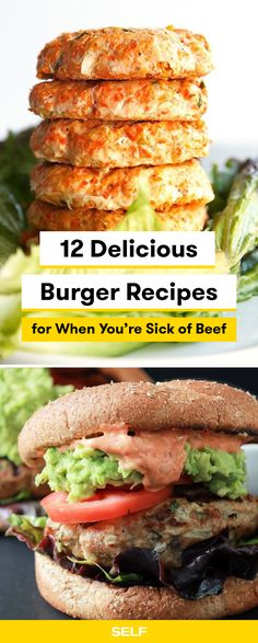 These burger recipes
