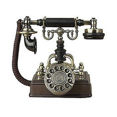 brass plated phone