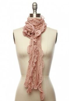 Gauze for Gazing Scarf in Dusty Pink Indie Fashion, Vintage Fashion, Pink Scarves, Vintage Style Dresses, Retro Dress, Boho Outfits, Scarf Styles, Dusty Pink, Playing Dress Up