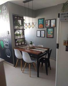 Small Space Interior Design, Condo Design, Home Interior Design, House Design, Condo Living Room, Living Room Decor, Sala Grande, Futuristic Home, Dining Table Design