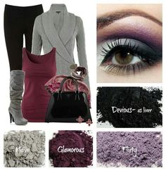 Match your Moodstruck Mineral Pigment Powder to your outfit... Eye shadow, or make some Nail polish!