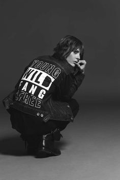"""The """"L Word"""" actress is joined by pro skateboarders, comics and a politician for their new line of rad tomboy pieces. Katherine Moennig, The L Word, Shane Mccutcheon, Leisha Hailey, Estilo Tomboy, Androgynous Women, Tegan And Sara, Icon Collection, Tomboy Fashion"""