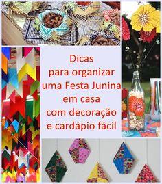 Dicas para organizar uma Festa Junina/Julina em casa Reciclar e Decorar - Blog de Decoração e Reciclagem