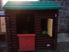 little tikes log cabin Playhouse!!!