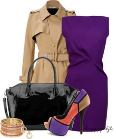 """""""Color Blocked Heel"""" by happygirljlc on Polyvore"""
