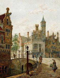 Jan Hendrik Verheyen - A View of a Town