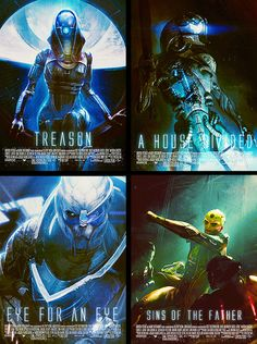 These Lovely Fan Made Posters Are For Mass Effect Movies I'd Actually Love To See