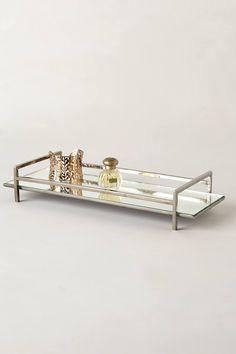 Mirrored Vanity Tray - anthropologie.com