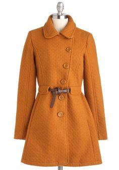 Pumpkin Patch Coat! <3