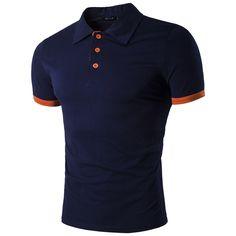 2680612f33 10.58 |Aliexpress.com: Comprar Nuevo 2017 moda ropa de marca polo homme  sólido camisa de polo al por mayor camisa ocasional de los hombres tee tops  de ...