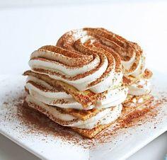 Low Carb Caramel Machiatto Tiramisu.  Kiss those sugar cravings goodbye. (gluten free)