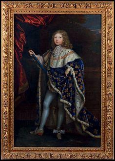 Louis de France, Grand Dauphin, Prince de Viane (1661 - 1711) / By H. Testelin, 1671.