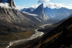 Places In Canada You Won't Believe Actually Exist - It was hard to pick only one for the pin, but this one is just spectacular. Mount Thor on Baffin Island, Nunavut, Canada. Places To Travel, Places To See, Places Around The World, Around The Worlds, Gros Morne, Destinations, Canada Travel, Adventure Travel, Beautiful Places