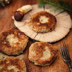 Houbové karbanátky - recept krok 5 Korn, Muffin, Breakfast, Muffins, Cupcake, Grains, Cup Cakes