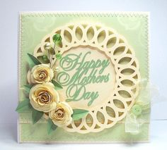 free mothers day doily card
