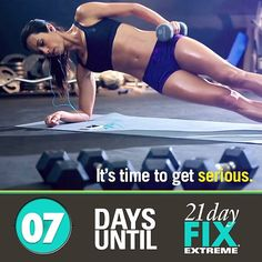 """tbbcoach411: """"We're a week away from getting EXTREME! Double tap if you're ready to get serious. #21DayFixEXTREME"""""""