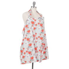 NEW- Spring Collection! Organic Cotton Nursing Cover in Primrose print- by Bebe au Lait