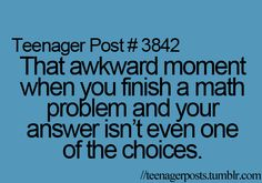 haha all the time!