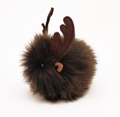 Reindeer Stuffed Animal Cute Plush Toy Reindeer Kawaii Plushie Randy the Reindeer Christmas Stocking Stuffer Faux Fur Toy Small 4x5 Inches by Fuzziggles on Etsy https://www.etsy.com/listing/170325563/reindeer-stuffed-animal-cute-plush-toy